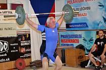 Bývalý juniorský reprezentant Oldřich Sobotka vyhrál věkovou kategorii 50 - 59 let.