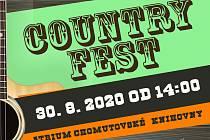 V neděli bude v atriu Chomutovské knihovny Country Fest.