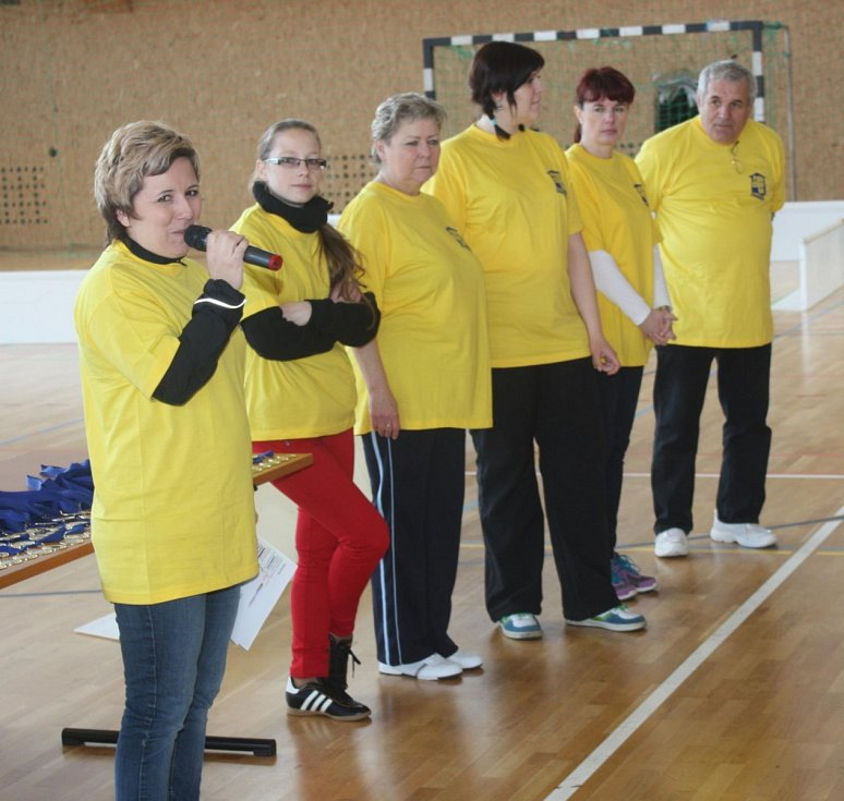 Sportovní hry přátelství 2014 ve Spořicích.