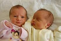 Holčičky narozené ve znamení blíženců: okatá Eliška a spící Adélka Bursíkovy. Na svět přišly 23. 5. v chomutovské porodnici. První se narodila Eliška ve 22:28 hod., měřila 46 cm a vážila 2,5 kg. Ve 22:57 hod. ji následovala drobnější Adélka s mírou 43 cm