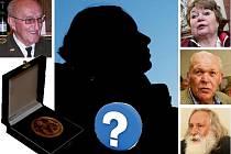 Jiří Zenáhlík (vlevo), Marie Svobodová, Bohumil Kubát, Milan Kindl (vpravo). To je pět tváří z jednačtyřiceti oceněných cenou Jiřího Popela z Lobkovic (snímek vlevo) v minulých letech. Kdo k nim přibude letos?
