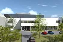 Takto bude vypadat nový pavilon urgentního příjmu v Nemocnici Chomutov.