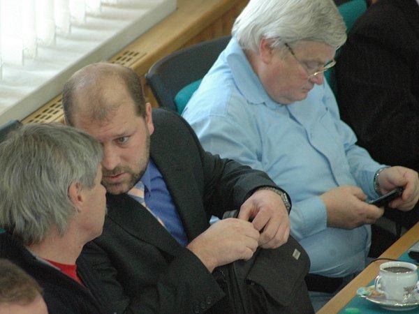 Ladislav Drlý (vpravo).