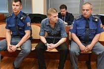 Obžalovaný Michal Bejr u krajského soudu.