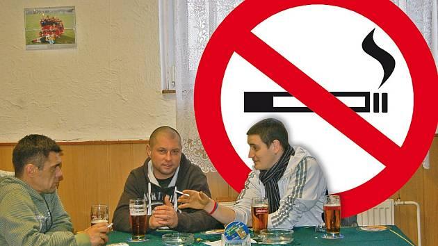 Zákaz kouření ve vesnické hospodě. Projde to?