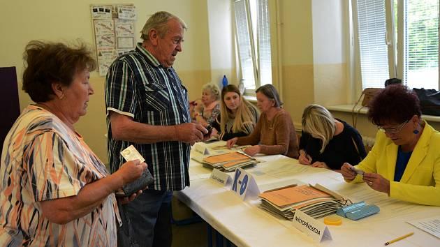 Eurovolby na Chomutovsku.