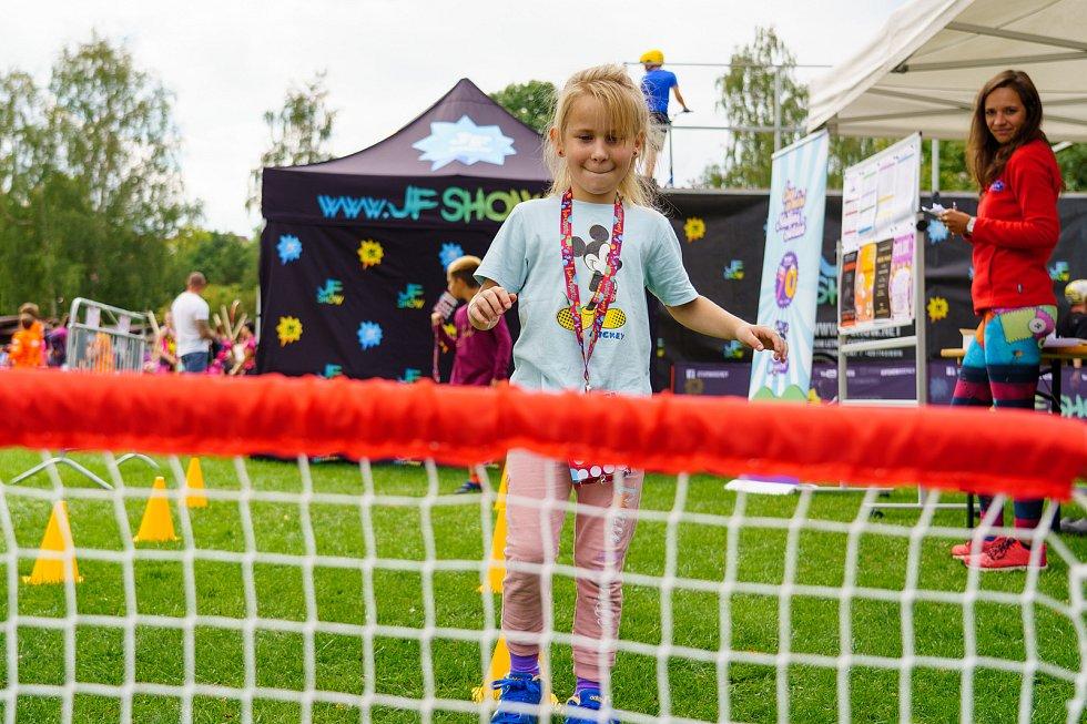 Kamencové jezero v Chomutově hostilo další ročníku Festivalu sportu.