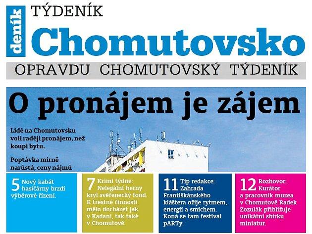 Týdeník Chomutovsko z 5. června 2018