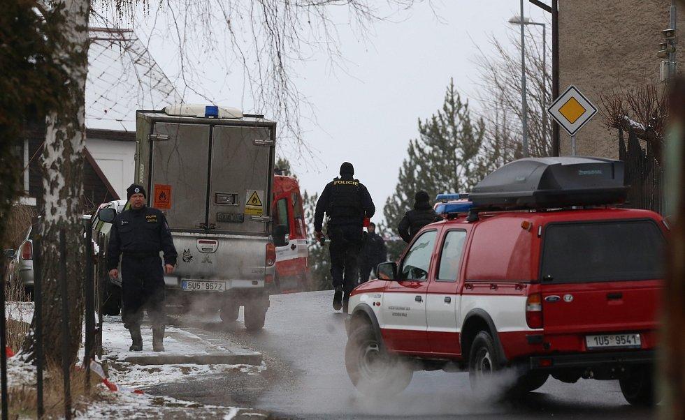 Tragický požár ve Vejprtech na Chomutovsku