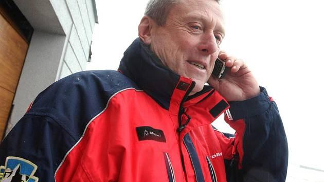Bývalý náčelník horské služby Rudolf Chlad.
