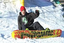 Festivalový pohár, snowboard a freeski.