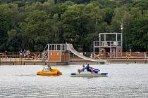 Léto na Kamencovém jezeře