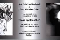 V Galerii Jirkov dnes odpoledne začne výstava Cosi společného.