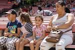 Chomutovské letní kino ovládl v sobotu druhý ročník Romského festival.