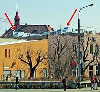 Chomutov chce. aby vzduchotechnika na Centralu tolik nebila do očí.