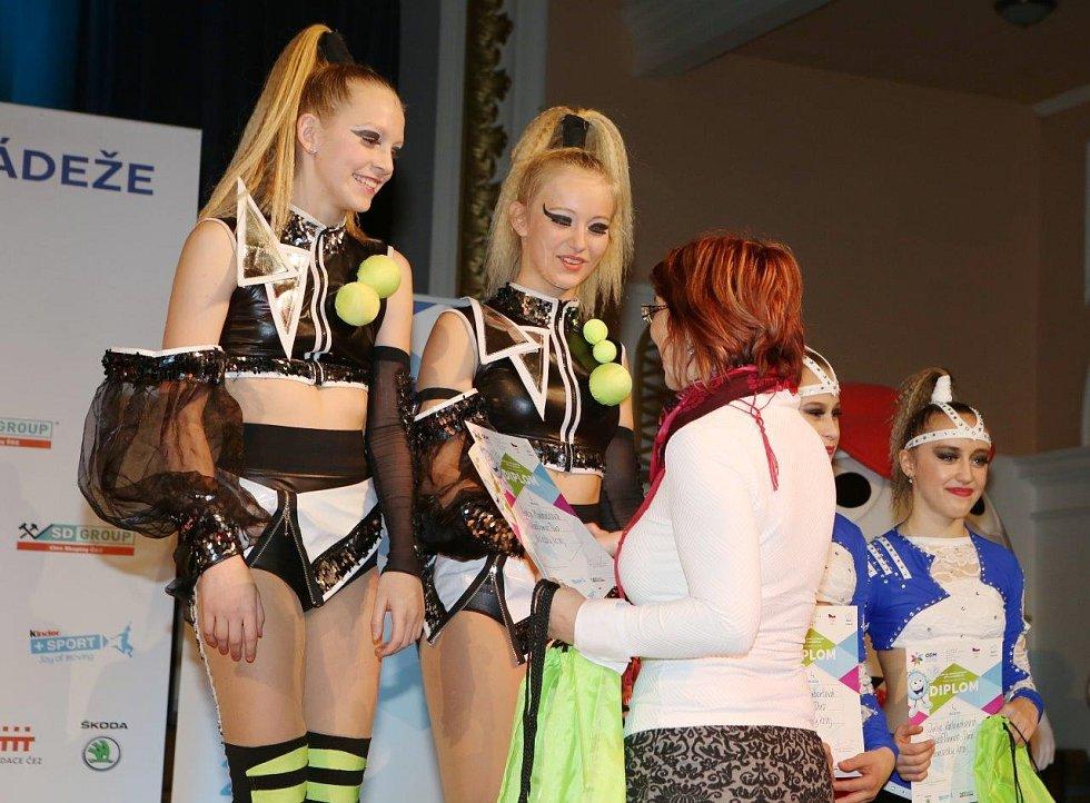 V duetu získaly Radka Pěkná a Adéla Macháčková z Beethovenu DC druhé místo.