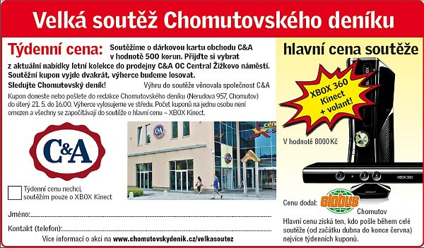 Promo kupon C&A.