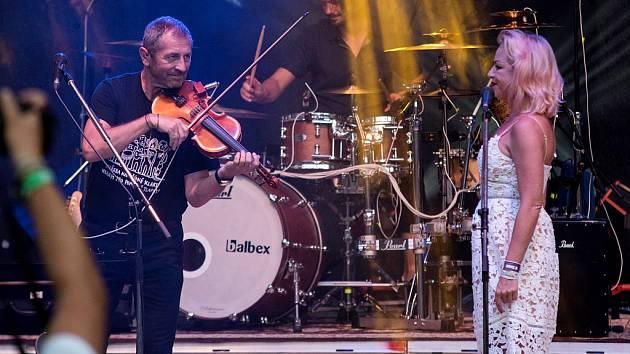 Vystoupení kapely Čechomor