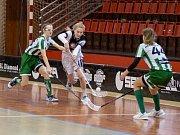 Florbal Chomutov - FbŠ Bohemians play off 1. ligy dorostenek.