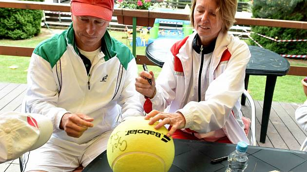 Sukovi a Ulichrach u chomutovských tenistů.