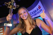 Simona Baumrtová triumfovala jako vítězka ankety.