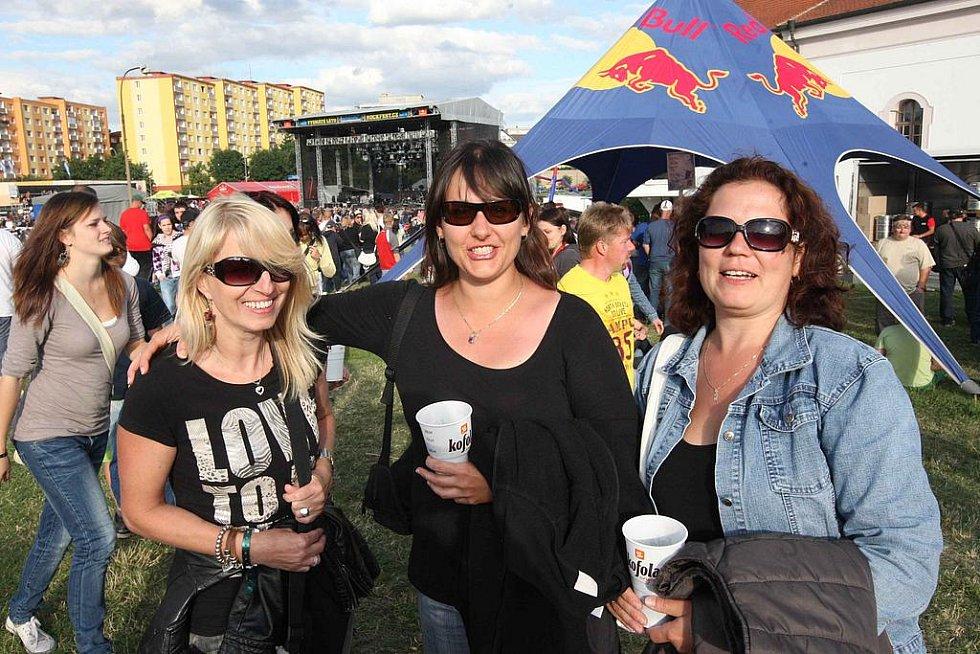 Návštěvníci kadaňského festivalu se dobře bavili