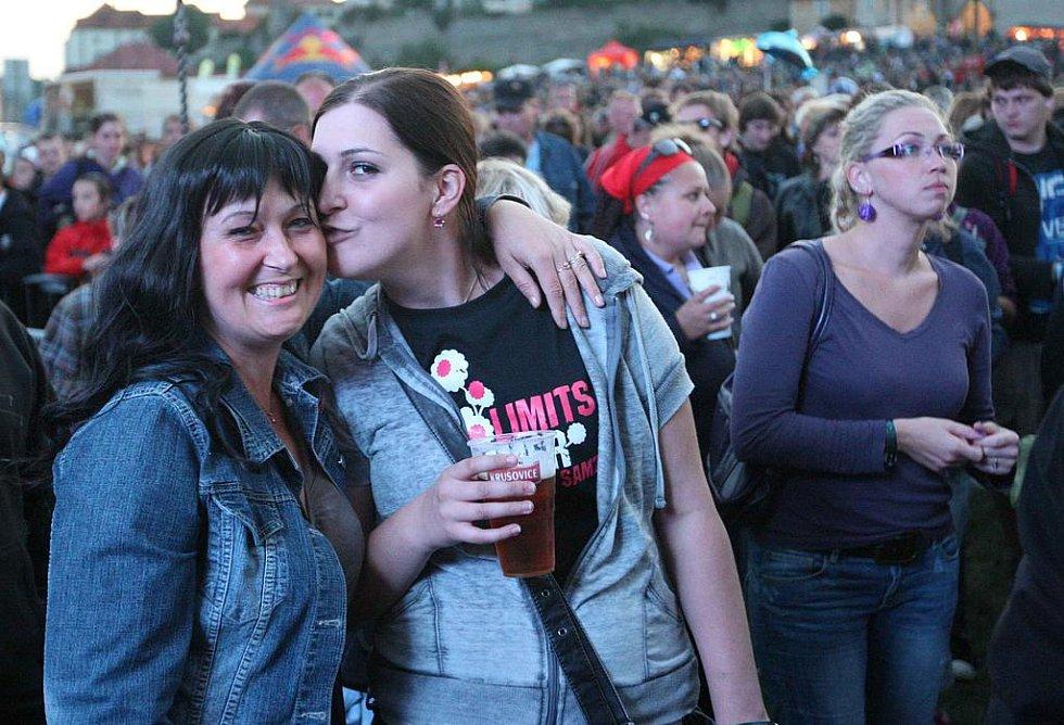 Diváci festivalu byli v dobré náladě