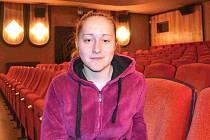 Jirkovské kino prochází transformací. V současné době ho řídí jednatelka Lucie Samcová na snímku.