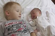 Magdaléna Prokopcová se narodila 13.6. v 16.21 hodin v chomutovské nemocnici. Měřila 51 centimetrů a vážila 3 kilogramy. Z dcerky má radost maminka Martina Vaculíková i bráška Matyášek.