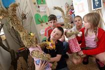 V chomutovském Domě dětí a mládeže v těchto dnech pořádají Velikonoční výstavu.