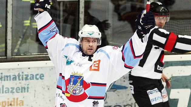 Chomutovský útočník Milan Kraft.