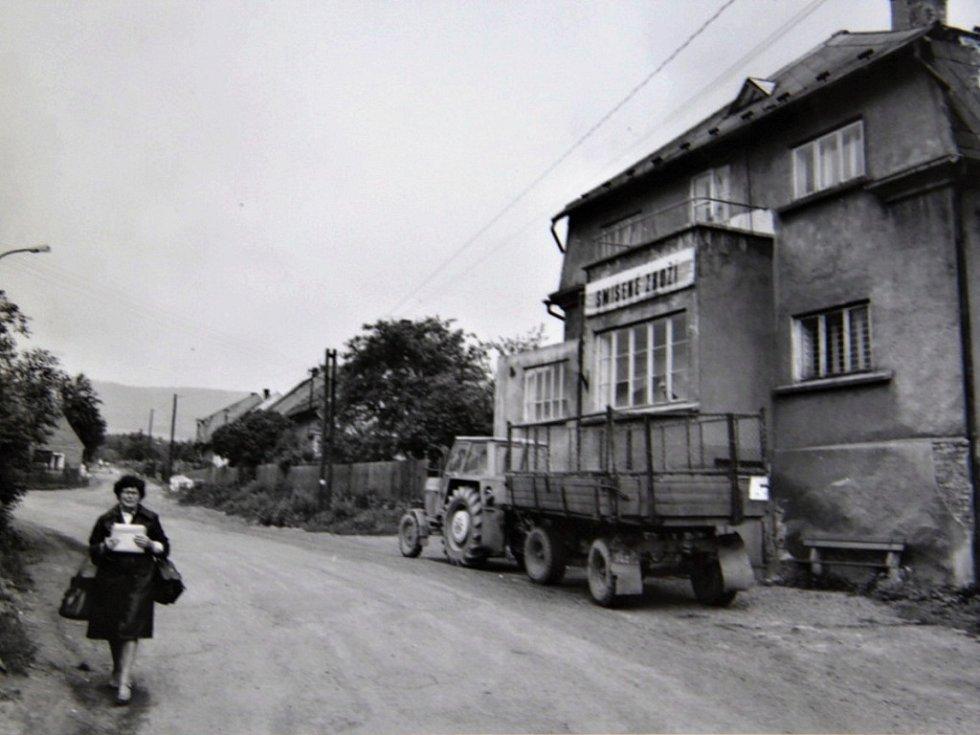 Přelom 70. a 80. let v dnes již zaniklé obci Ahníkov