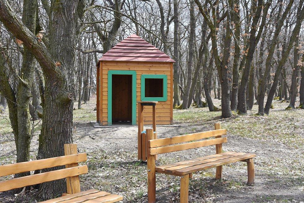 Dětský les v Hořenci.
