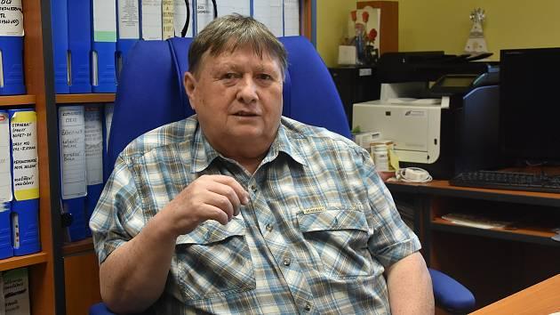 Starosta Málkova Josef Egermann.