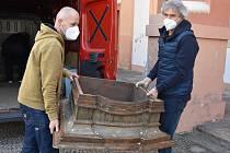 Do Chomutova se vrátily barokní varhany, které patří do kostela sv. Ignáce. Dosud je měli v pražském Karolinu.