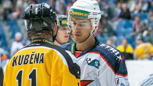 Chomutov (v bílém) prohrál v Prostějově.