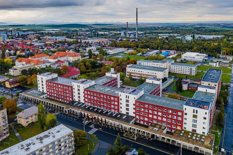 Nemocnice v Chomutově.