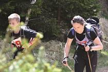 Desátý ročník závodu šerpů z Pyšné na Lesnou - Sherpa Cup 2016.