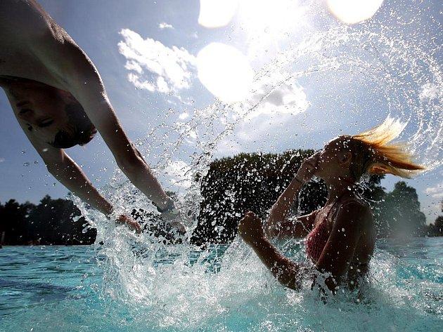 Vodní hrátky - ilustrační snímek.