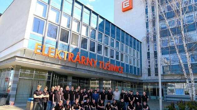 Energetickou maturitu v Elektrárně Tušimice má za sebou 32 středoškoláků z 11 partnerských škol Skupiny ČEZ.