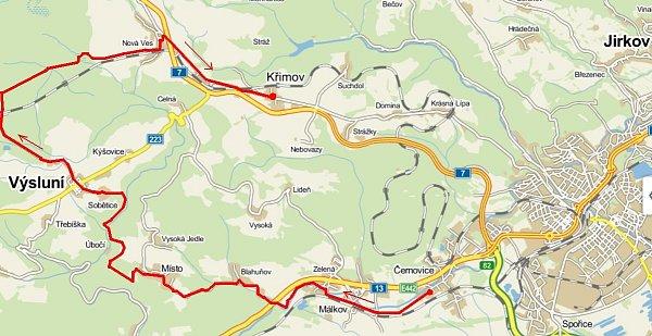 cykl- mapa