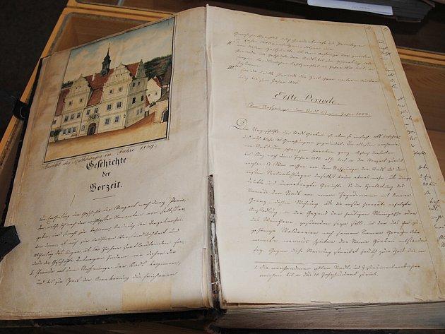 Nejstarší kronikou města Jirkova je ručně psaná Gregorova kronika z let 1836 až 1840.