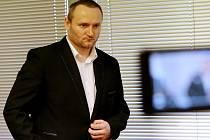 Petr B. u Krajského soudu v Ústí nad Labem. V úterý 17. dubna si vyslechl rozsudek, zatím nepravomocný