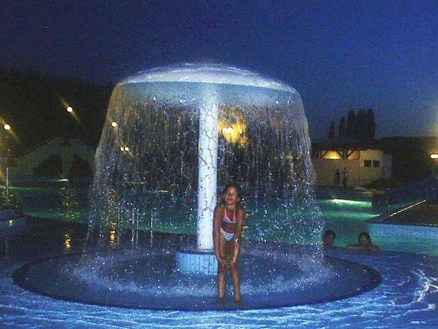 Snímek z kláštereckého aquaparku.