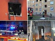 Když na Chomutovsku hoří domy...