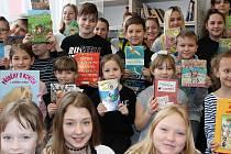 Žáci uspořádali sbírku knih