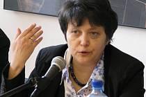 Předsedkyně chomutovské Strany zelených Džamila Stehlíková