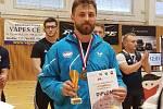 Jakub Drnec s bronzovou medailí.