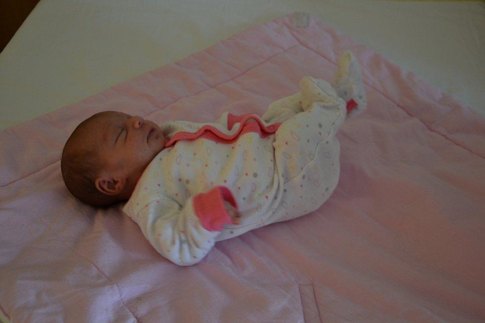 Viktorie Červeňáková se narodila 13.11. ve 12:57. Měřila 40 cm a vážila 1950 g. Rodiče Michaela Červeňáková a Jan Vykouk z ní mají radost a doma na ní čeká jedenáctiletý bráška Lukáš.