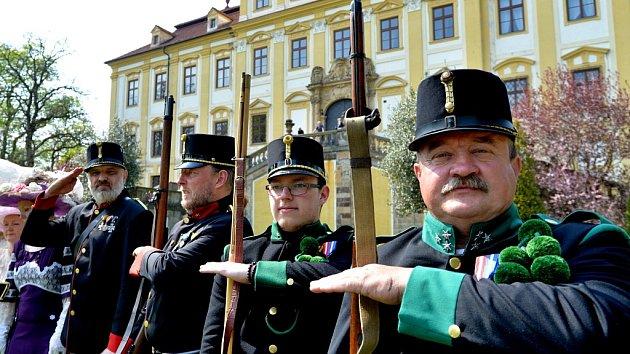 Zahájení nové turistické sezony na Červeném Hrádku u Jirkova